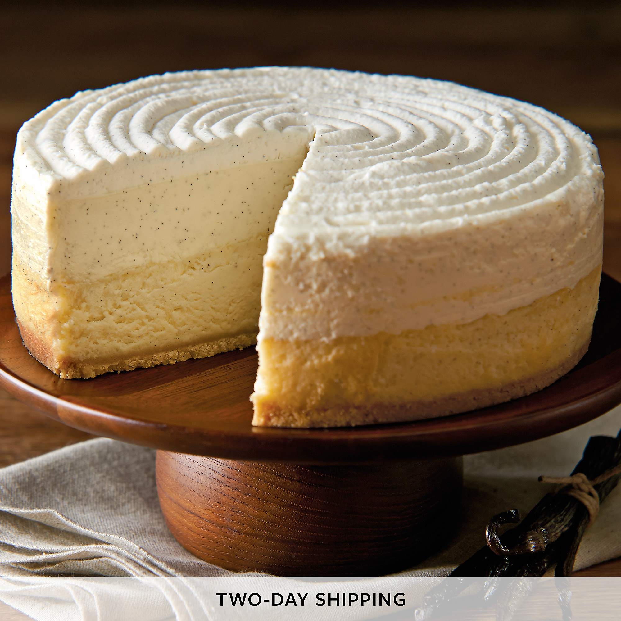The Cheesecake Factory® Vanilla Bean Cheesecake | Cheesecake Delivery