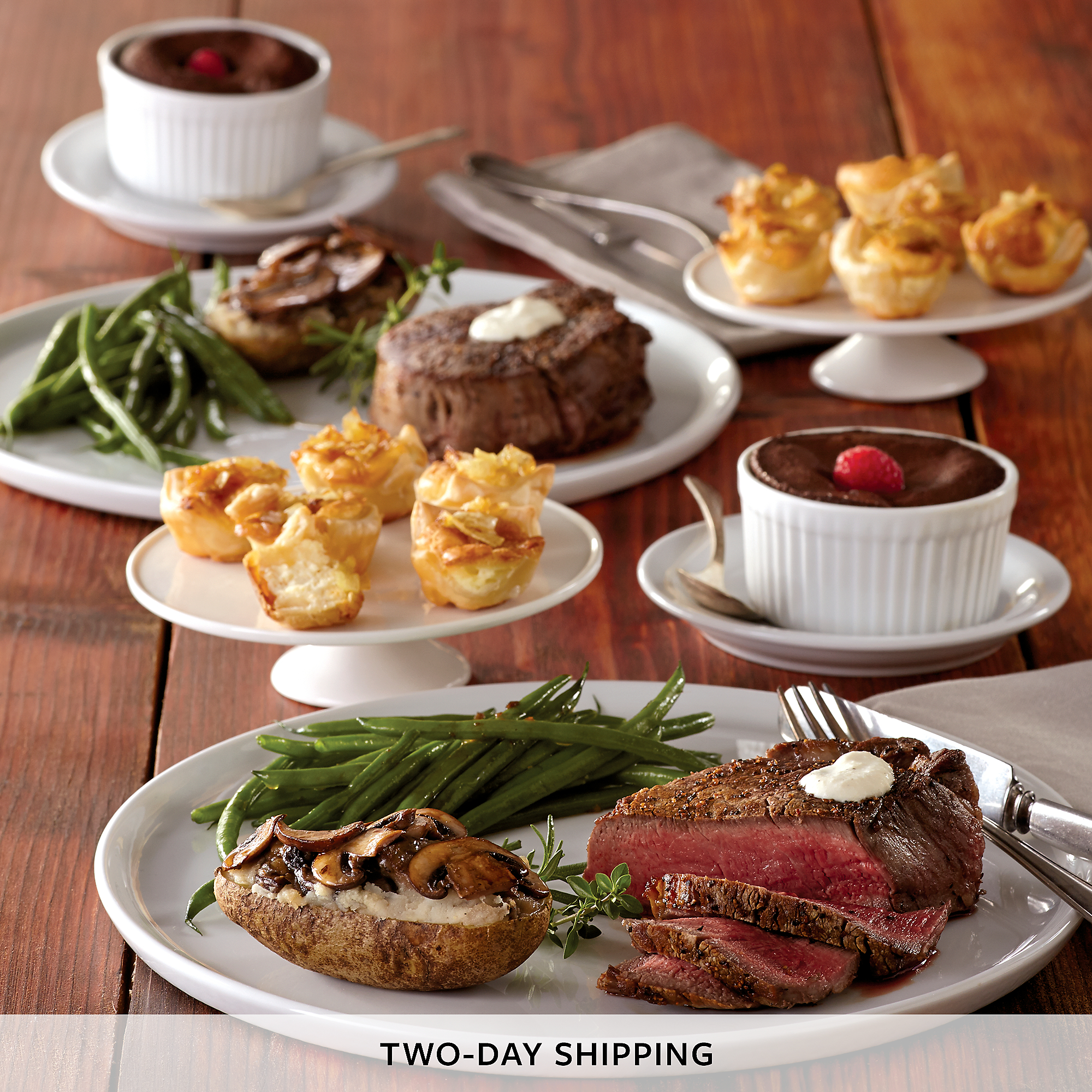 Filet Mignon Dinner for Two | Dinner Delivered | Harry & David