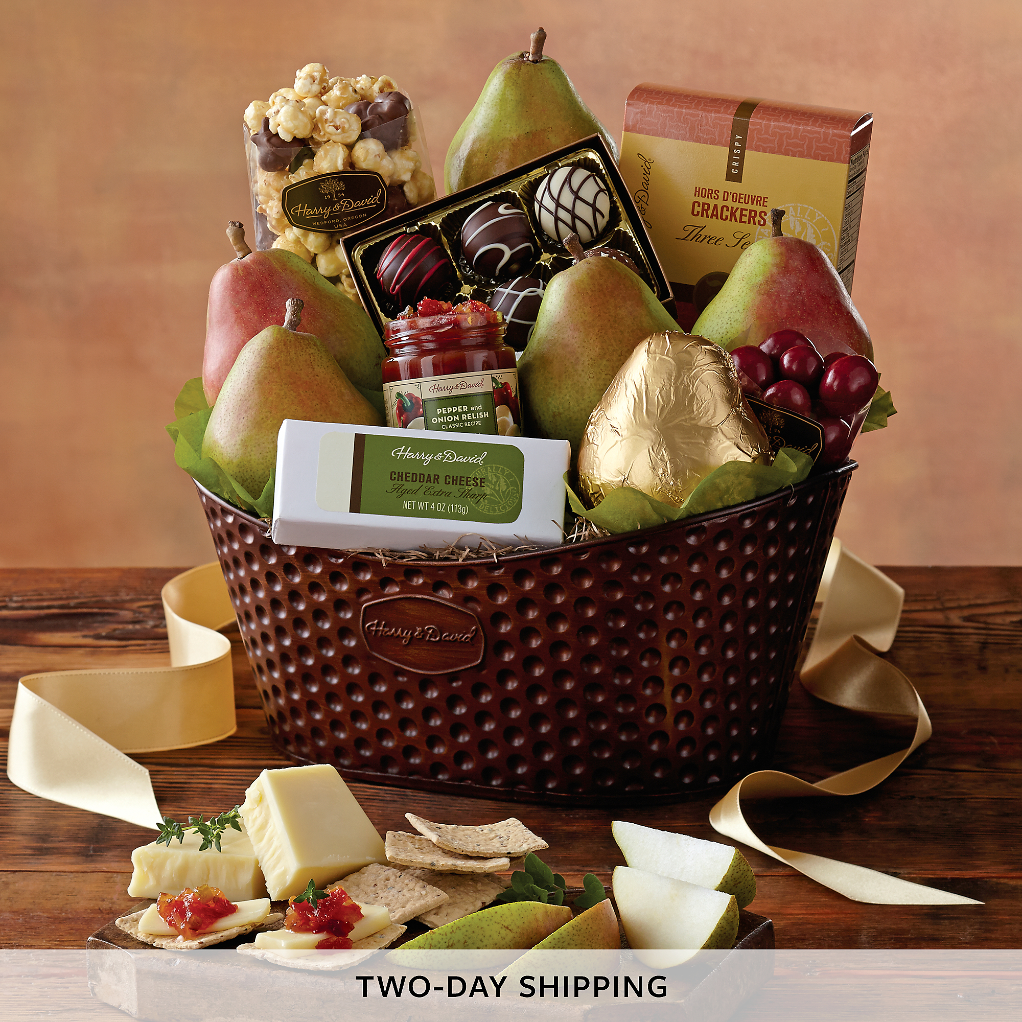 Organic Favorites Gift Basket click on image to zoom