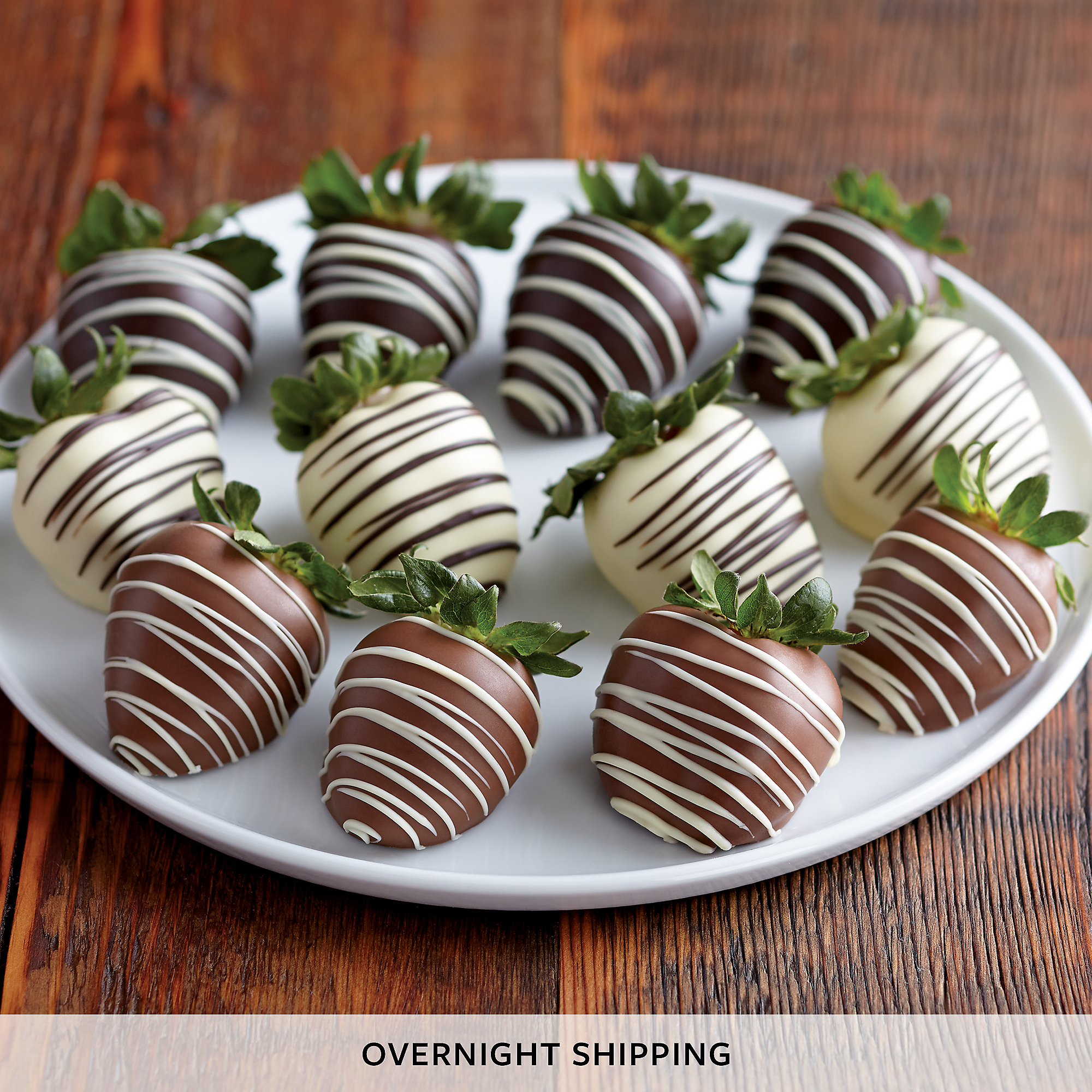 Chocolate-Covered Strawberry Medley
