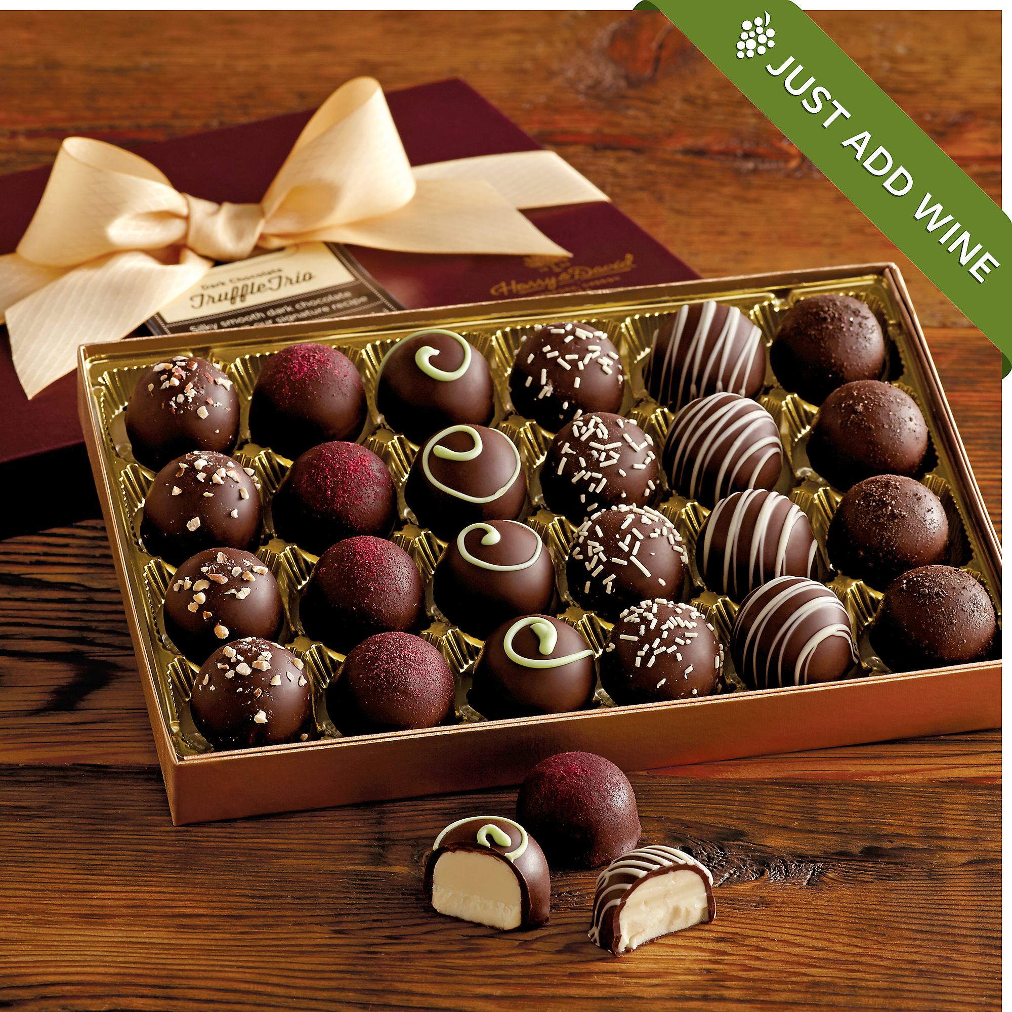 Dark Chocolate Truffles | Chocolate Gifts Delivered | Harry & David