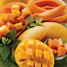Papayas and Mango