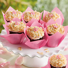 <span style=color:#bb0011>NEW</span> Chocolate Coconut Cupcakes