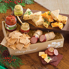 <span style=color:#bb0011>NEW</span> Sausage, Cheese and Crackers Gift Box Grand Deluxe