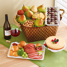 Table Rock Turkey Buffet Gift with Wine