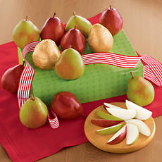 <span style=color:#bb0011>NEW</span> Holiday Pear Gift Box