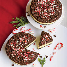 Peppermint Cheesecakes