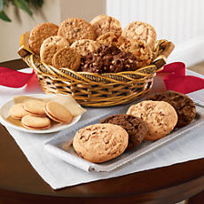 Baker City Holiday Cookie Basket Classic