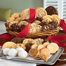 Baker City Holiday Cookie Basket Deluxe