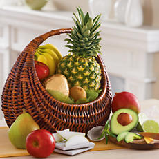 3-Month Medley Gift Basket Fruit-of-the-Month Club® Collection (Begins September)
