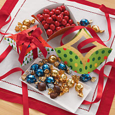 <span style=color:#bb0011>NEW</span> Truffles and Chocolate Cherries Gift