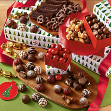 <span style=color:#bb0011>NEW</span> Holiday Tower of Chocolates® Gift Deluxe