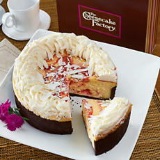 <span style=color:#bb0011>NEW</span> The Cheesecake Factory® White Chocolate Raspberry Truffle®