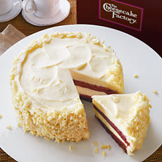 <span style=color:#bb0011>NEW</span> The Cheesecake Factory® Ultimate Red Velvet Cake Cheesecake™