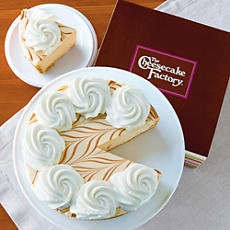 NEW The Cheesecake Factory® Dulce de Leche Cheesecake