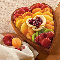 NEW Dried Fruit Heart Gift Box