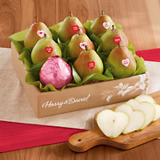 Valentine's Day Pear Gift Box