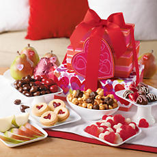 Valentine's Day Tower of Treats® Gift