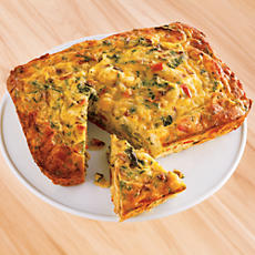 NEW Roasted Vegetable and Caramelized Onion Frittata