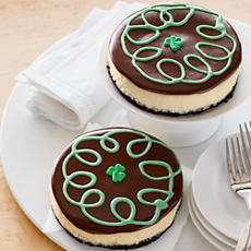 NEW St. Patrick's Day Cheesecakes