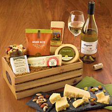 NEW Gourmet Cheese Gift with Wine