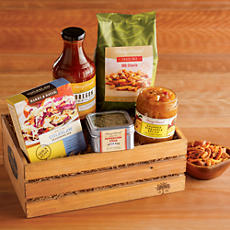 Gourmet BBQ Grilling Crate