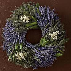 NEW Lavender Herb Wreath