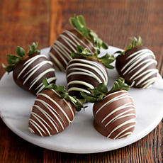 NEW Belgian Chocolate Covered Strawberries
