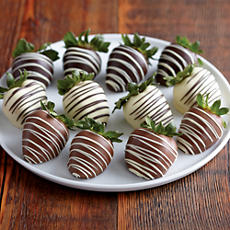 NEW Deluxe Belgian Chocolate Covered Strawberries