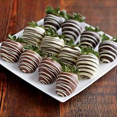 NEW Deluxe Triple Dipped Belgian Chocolate Covered Strawberries