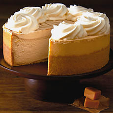 The Cheesecake Factory® Dulce de Leche Cheesecake