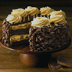 NEW The Cheesecake Factory® REESE'S® Peanut Butter Chocolate Cake Cheesecake