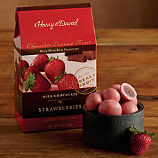 Chocolate-Covered Dried Strawberries