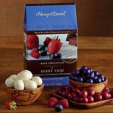 Milk Chocolate-Covered Berry Trio