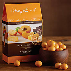 Milk Chocolate-Covered Apricots