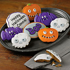 Personalized Halloween Cookies