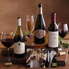 Wedding and Anniversary Wine Trio