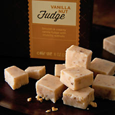 Vanilla and Nut Fudge