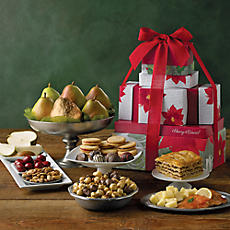 Deluxe Holiday Tower of Treats® Gift