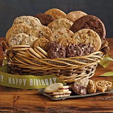 Birthday Cookie Gift Basket