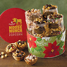 Limited Edition Holiday Moose Munch® Gourmet Popcorn Tin