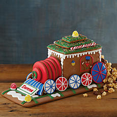 Personalized Gingerbread Train