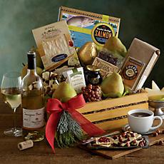 Deluxe Northwest Gift Basket with Wine
