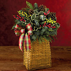 Decorative Holiday Basket