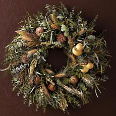 Eucalyptus Gourd Wreath