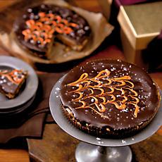 Giant Chocolate Pumpkin Pecan Cup