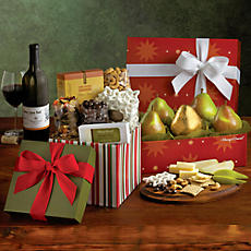 Sweet and Savory Holiday Gift with Wine