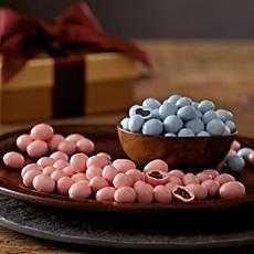 Greek Yogurt-Covered Cranberries and Blueberries