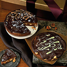 Giant Chocolate Hazelnut and Peanut Cups