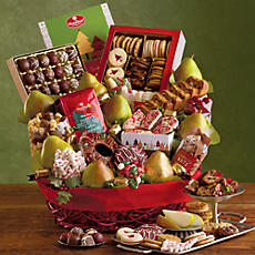 Christmas Celebration Gift Basket
